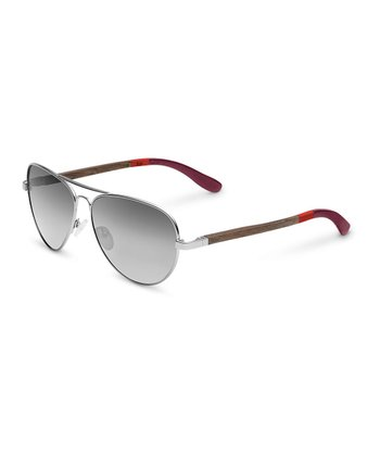 Silver & Burgundy Maverick - Women & Men