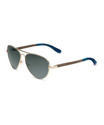 Gold & Deep Blue Maverick - Women & Men