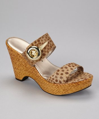 Bronze Button Wedge