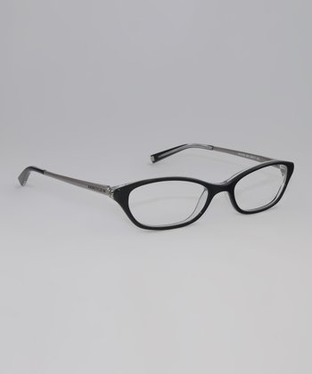 Black Crystal 49-mm Oval Glasses