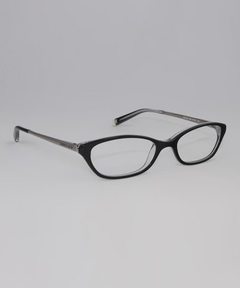 Black Crystal 51-mm Oval Glasses