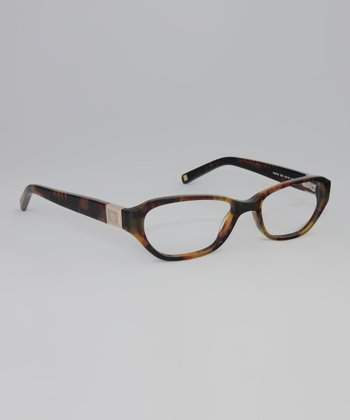 Vintage Tortoise Oval Glasses