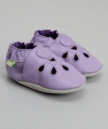 Lavender Mary Jane Soft-Sole Shoe