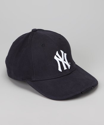 Dark Navy New York Yankees LED Headlight Hat