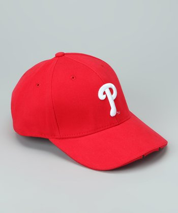 Red Philadelphia Phillies LED Headlight Hat