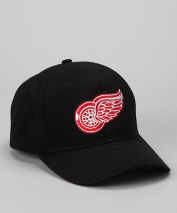 Black Detroit Red Wings Lighted Baseball Hat