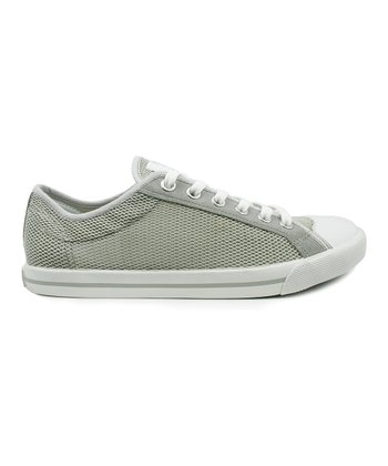 Light Gray Mesh Oxford Sneaker