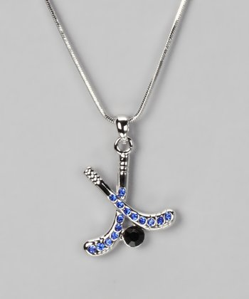Royal Blue Pendant Necklace