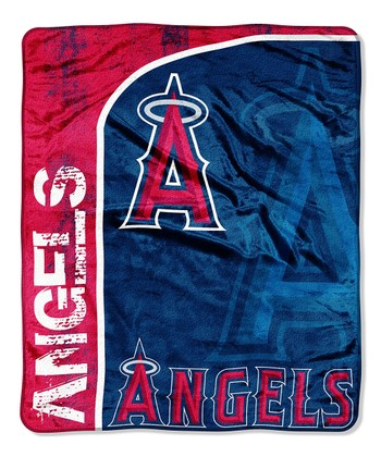 Los Angeles Angels Throw Blanket