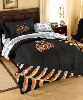 Baltimore Orioles Bedding Set
