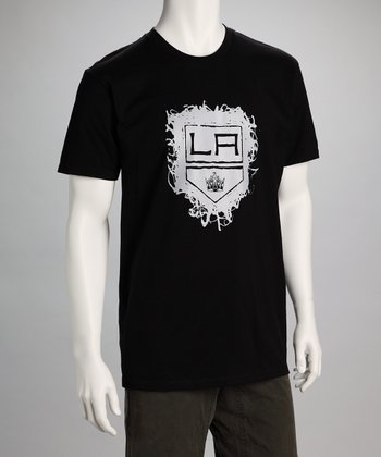 Black Los Angeles Kings Taggin' Tee - Men