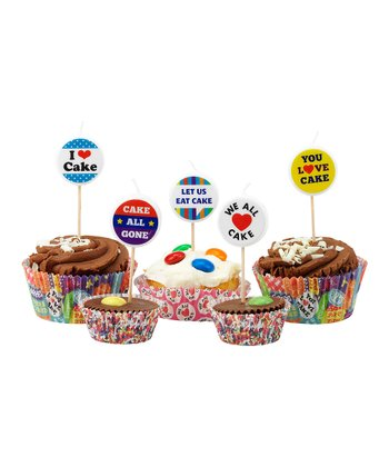 Cake Central Cake Topper - Set of 40