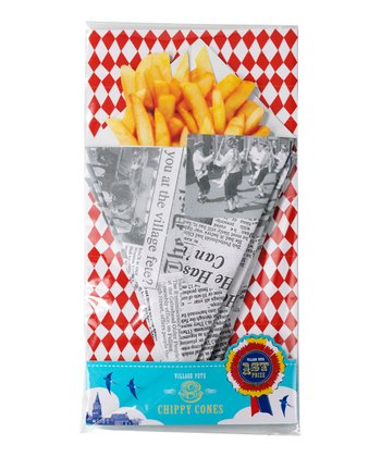 Village Fete Fry Cone - Set of Eight