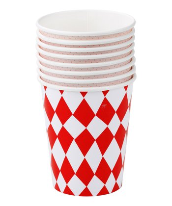 Village Fete Cup Set - Set of Eight