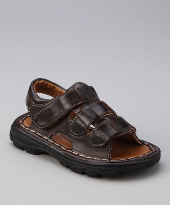 Brown PU-02 Sandal