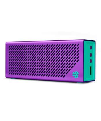 Purple & Mint The Crasher Bluetooth Portable Speaker