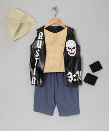 Stone Cold Steve Austin Deluxe Dress-Up Set - Kids