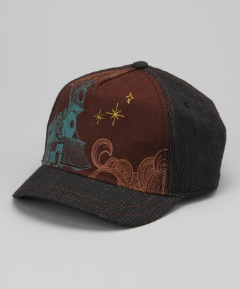Brown The Engineer Baseball Cap