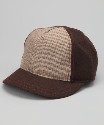 Brown Sullivan Jr. Wool-Blend Baseball Cap