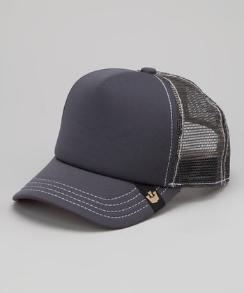 Gray Dog Town Jr. Trucker Hat