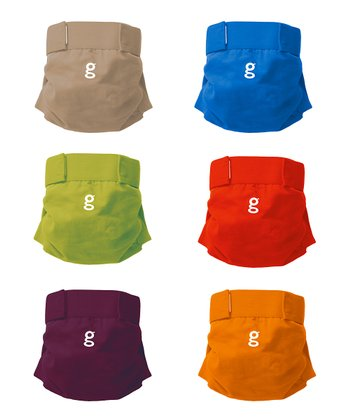 Rainbow Everyday gPants - Set of Six