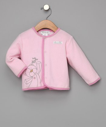 Pink Teddy Bear Jacket