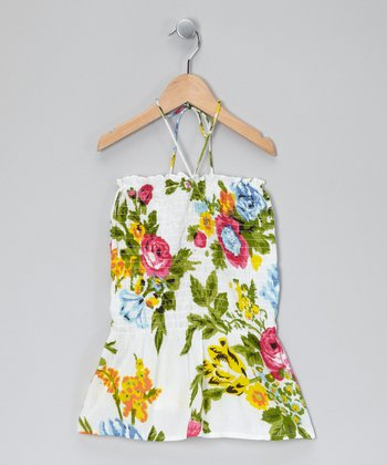 Vanilla Floral Convertible Dress - Infant, Toddler & Girls