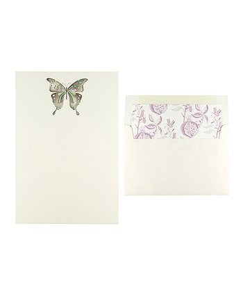 Cid Pear Butterfly Stationary Set