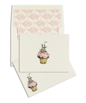 Cid Pear Cupcake Classic Note Card Set