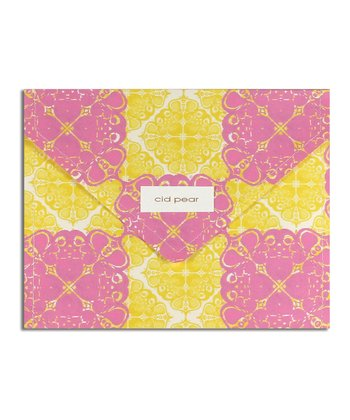 Cid Pear Echino Stationery Set