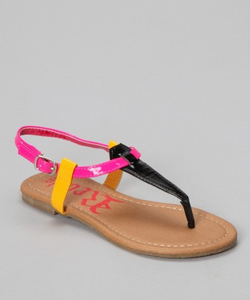 Black Dora Sandal