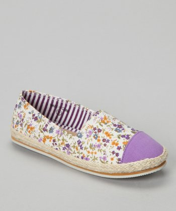 Purple Rouser Slip-On Shoe