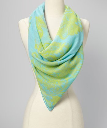 Estate Blue Neon Scarf