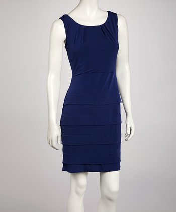 Royal Panel Sheath Dress