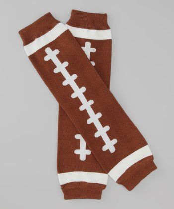 Brown Football Legwarmers
