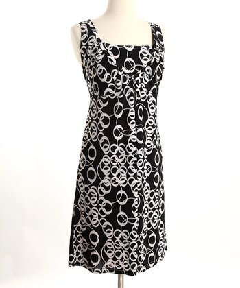 Chain Link Nursing Dress