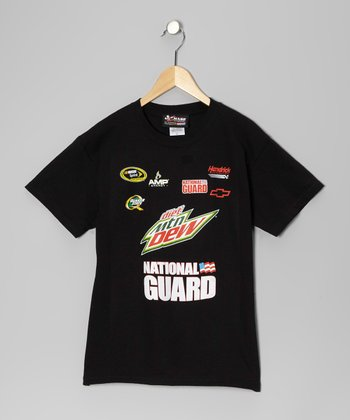 Black Dale Earnhardt Jr. Uniform Tee - Kids
