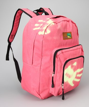 Pink & Neon Yellow Color-Change Backpack