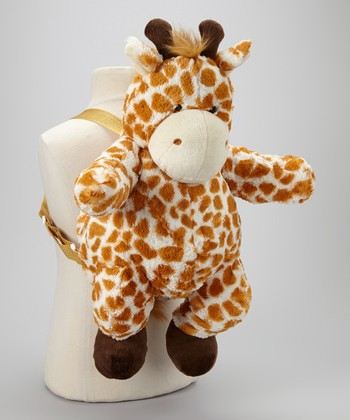 Brown & Cream Giraffe Backpack