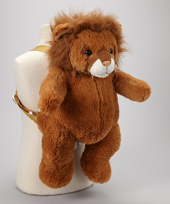 Brown Lion Backpack