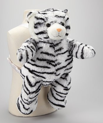 White & Black Tiger Backpack