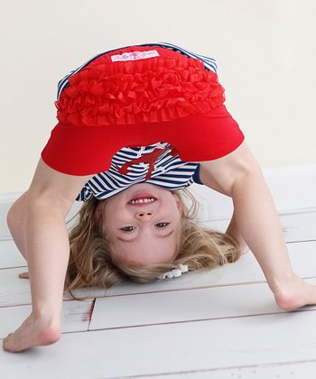 Red Playground Shorts - Toddler