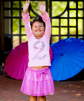 Pink & Purple Tutu Skirt - Infant, Toddler & Girls