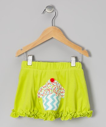 Lime Green Cupcake Ruffle Skirt - Infant, Toddler & Girls