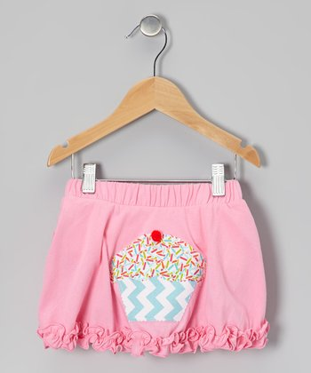 Light Pink Cupcake Ruffle Skirt - Infant, Toddler & Girls