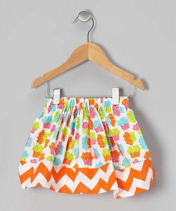 Rainbow Cupcake Zigzag Skirt - Infant, Toddler & Girls