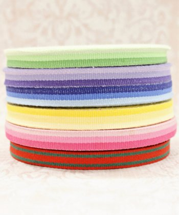 Stripe Twill Ribbon Set