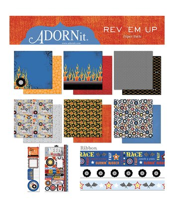 Rev Em Up Paper Set