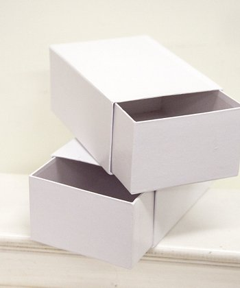 Sliding Drawer Storage Box - Set of Two