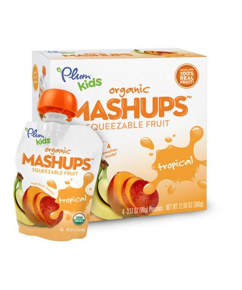 Tropical Fruit Organic Mashups Pouch - Set of 24